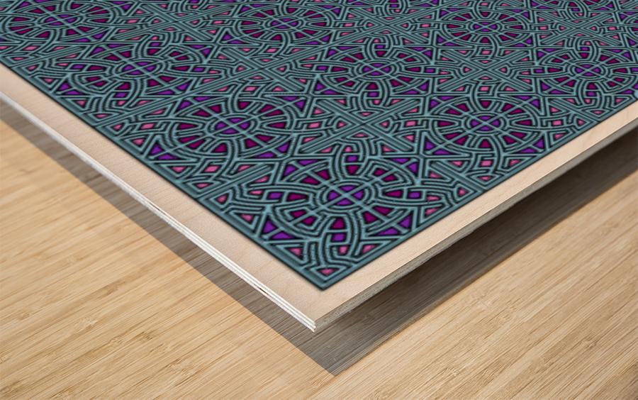 Banner 2503 Wood print