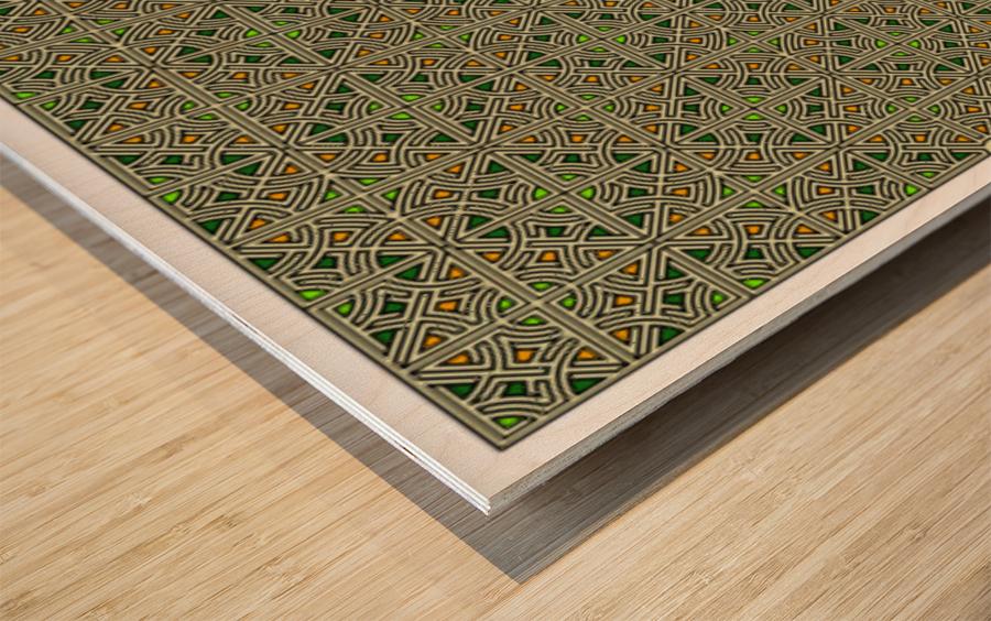 Banner 2502 Wood print