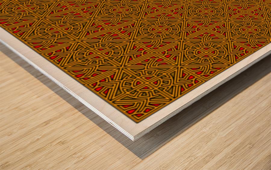 Banner 2504 Wood print