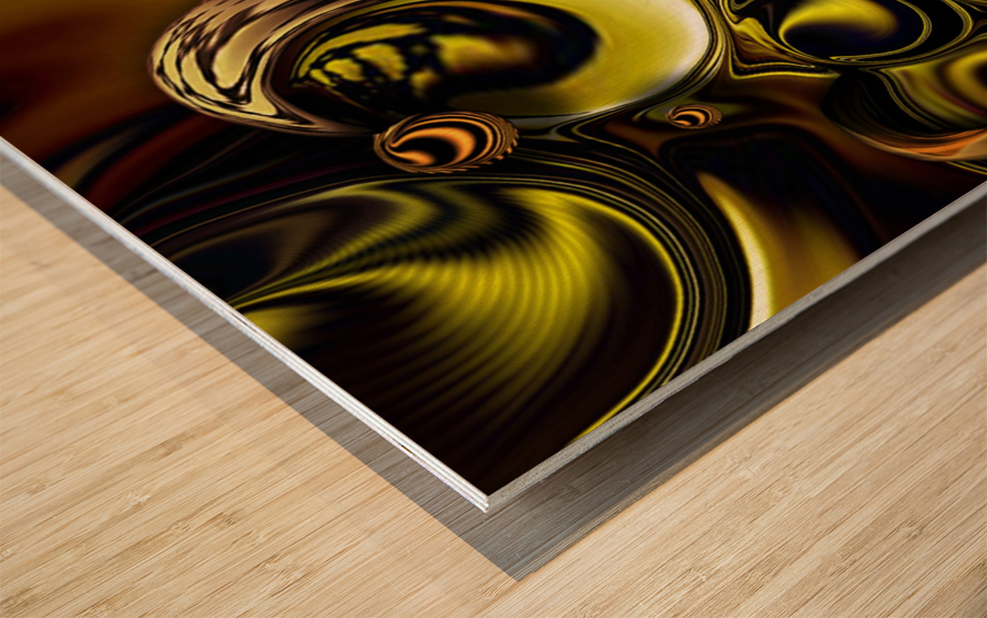 Mechanical Intensity Wood print