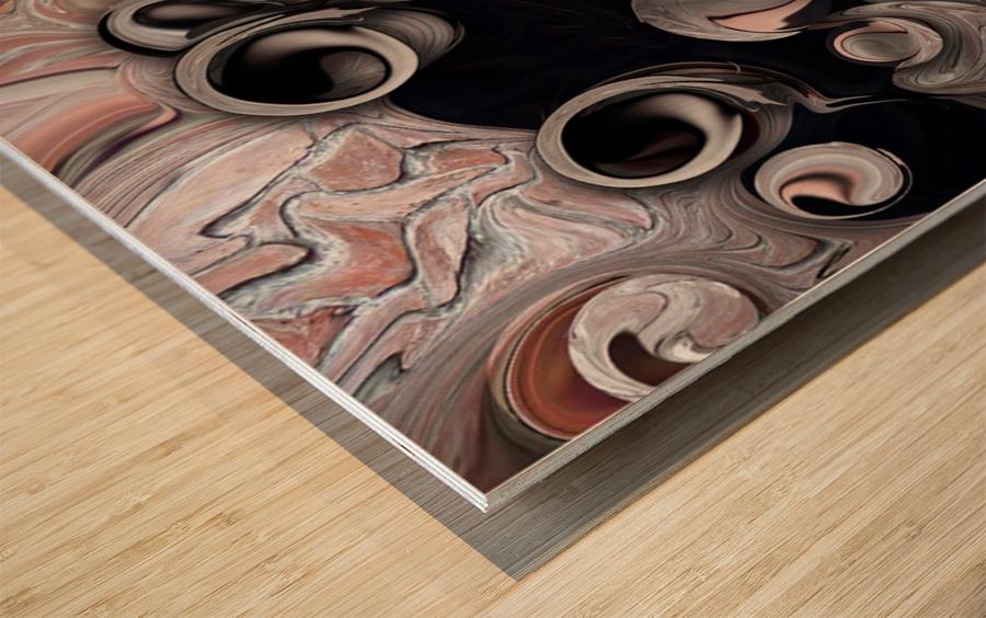 Metamorphosis and Echo Wood print