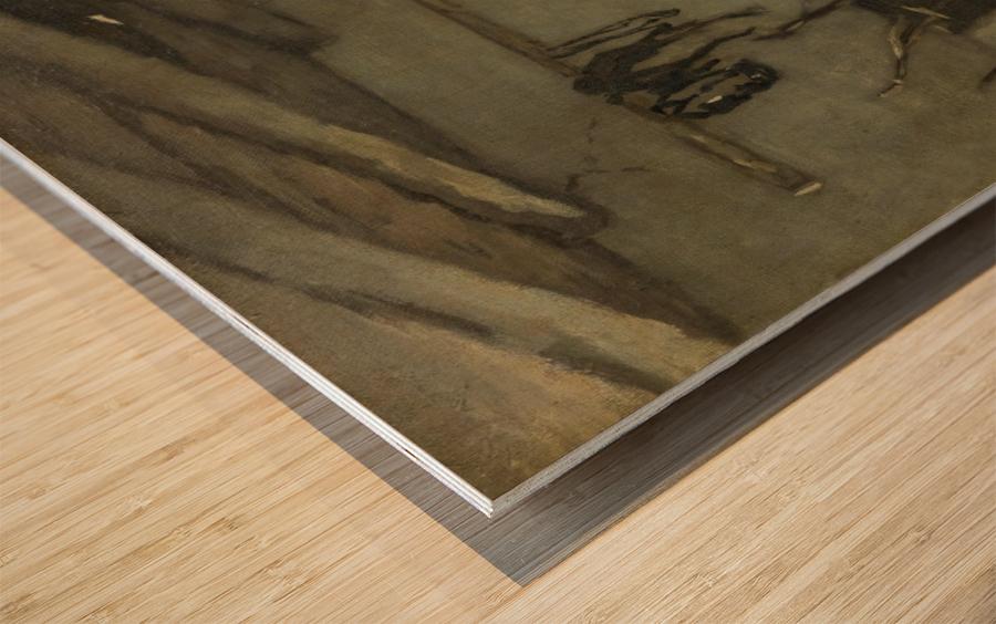 Stalinterieur Wood print