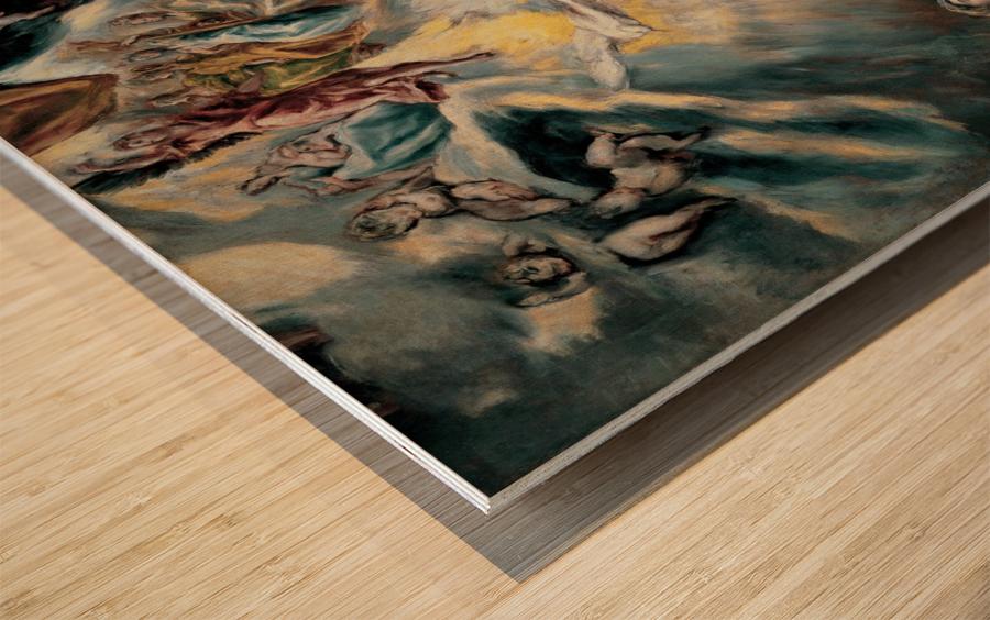 The Annunciation Wood print