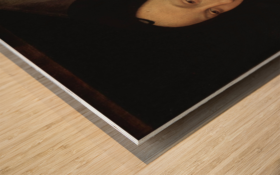 Portrait of Maria Portinari, 1475 Wood print