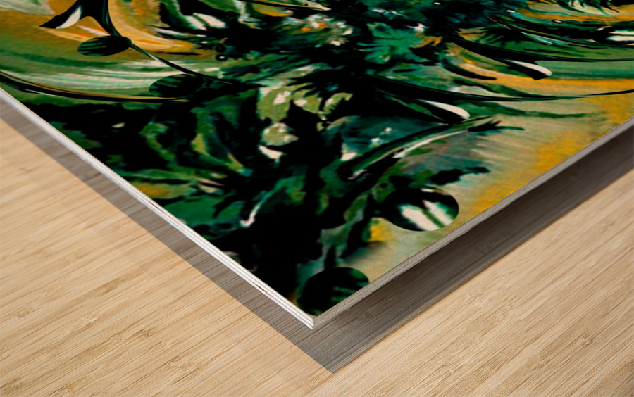 Momentary Season Wood print