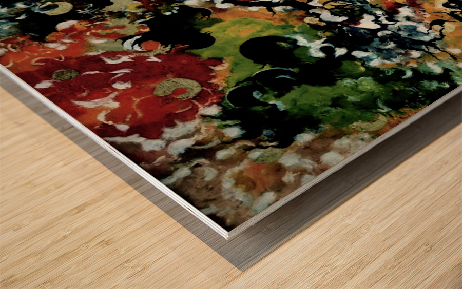 Metaphysical Cut of Life Wood print