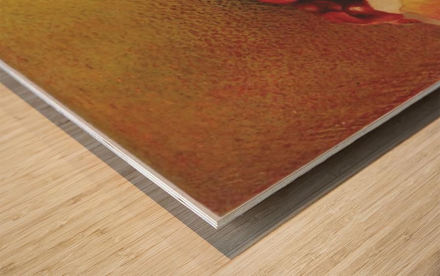 pomegranate by Vali Irina Ciobanu Wood print