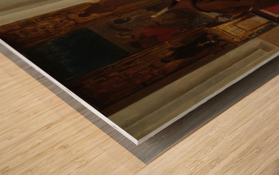 A Pinch of Snuff Wood print