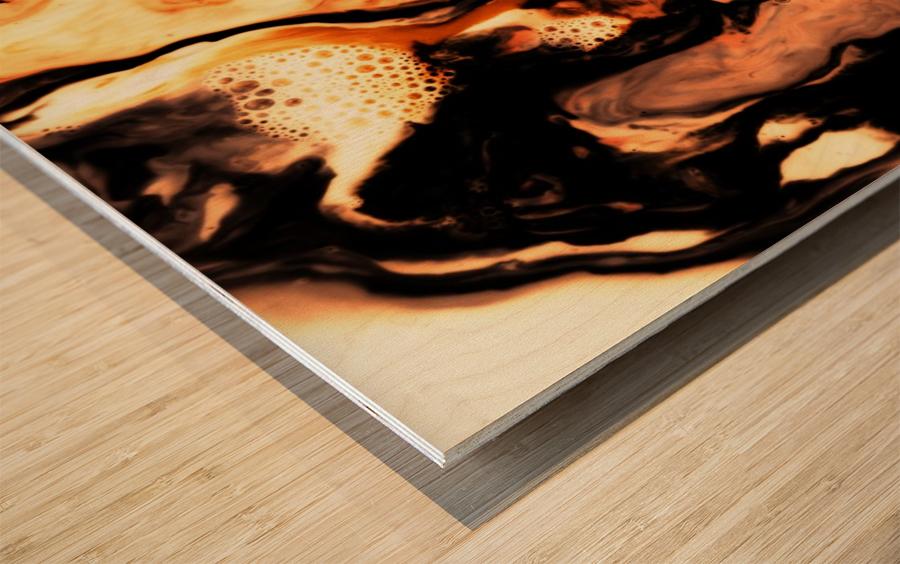 I'm Free Wood print
