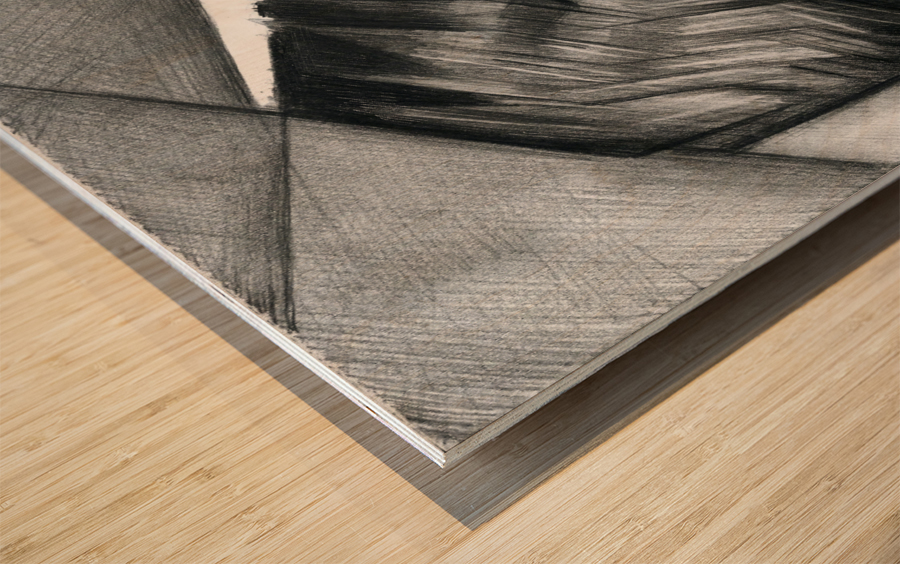 Sans titre - 08-07-15 Wood print