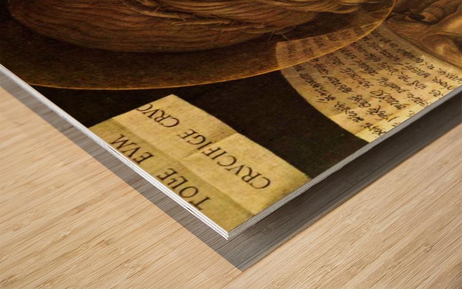 Ecce Homo detail Wood print