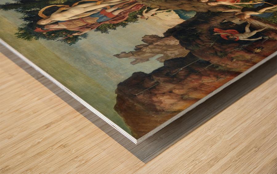 La Parnasse Wood print