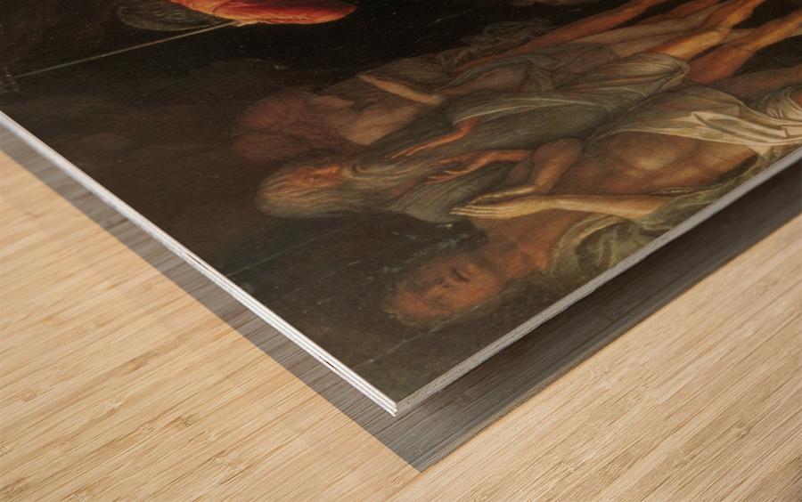Descent into Limbo Wood print