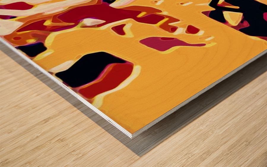 sandier  Wood print
