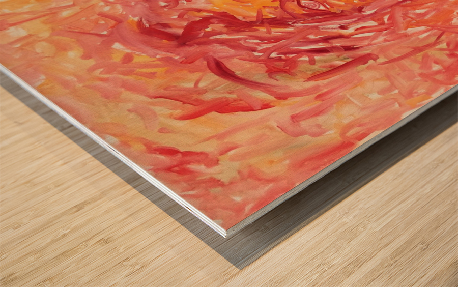 Separation Wood print