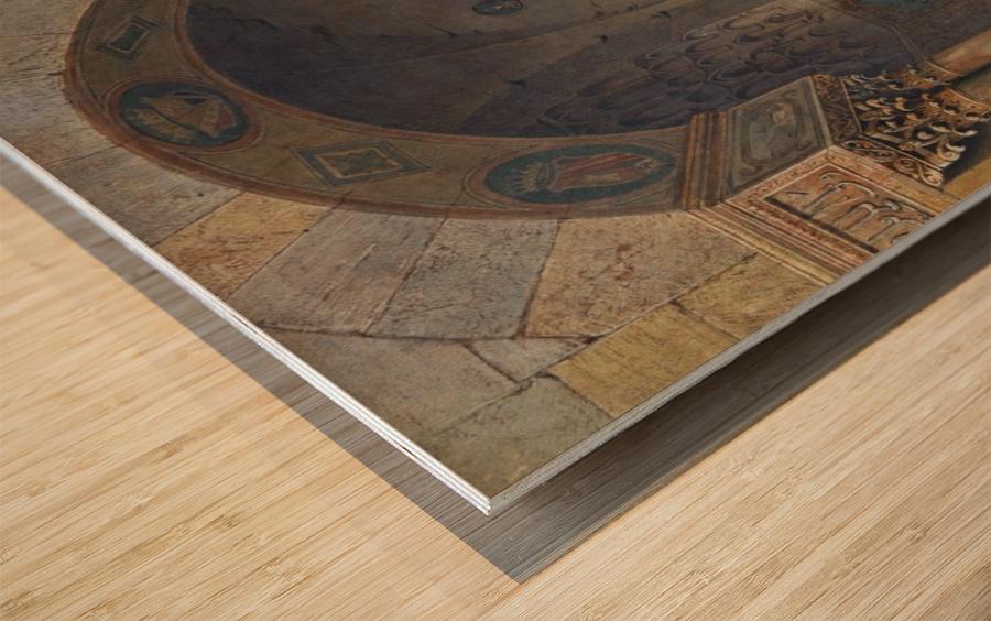 House of Zisa Palermo Wood print