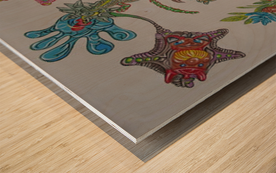 p1401 Wood print