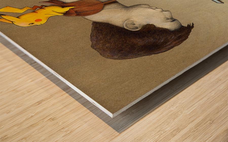 control Wood print