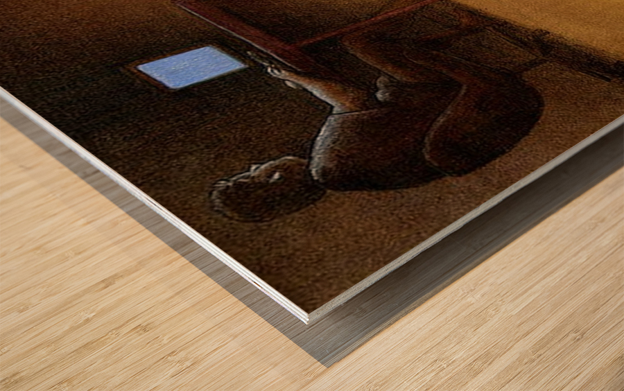 Modern Hunter Wood print