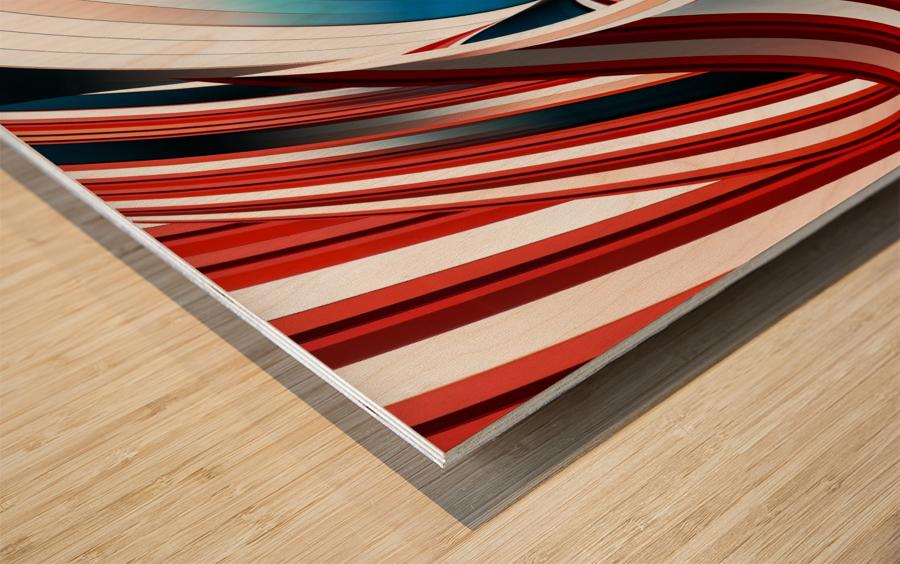 Passione annodata Wood print