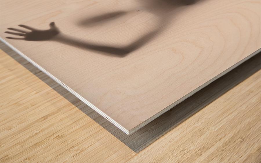 Mist Wood print