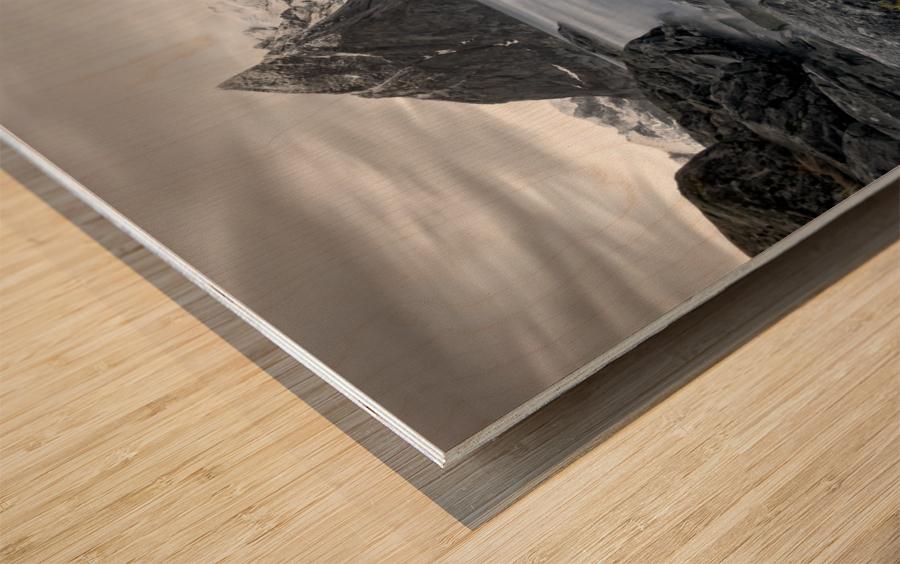 Living Norway Wood print