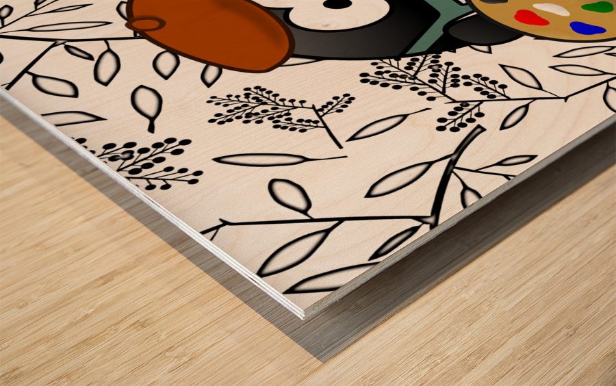 Art50 Wood print