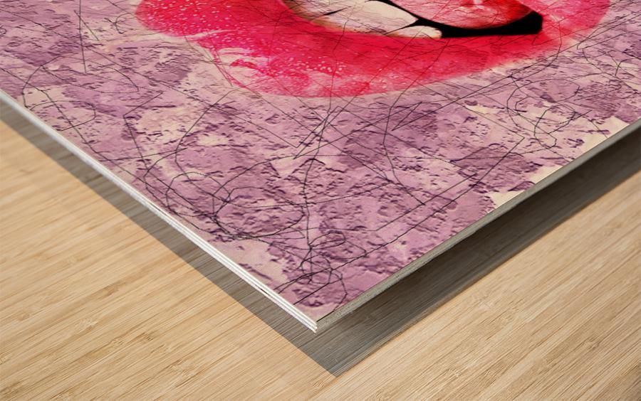 Art172 Impression sur bois