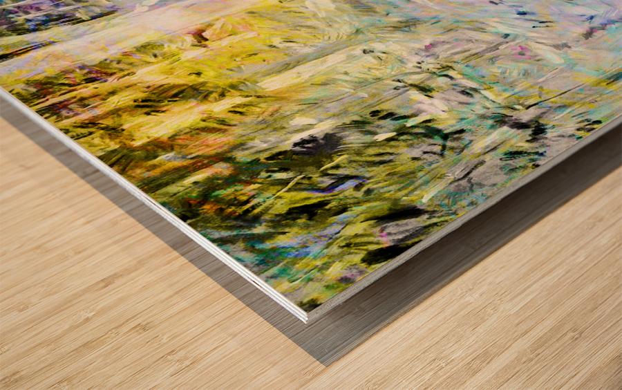 Art194 Impression sur bois