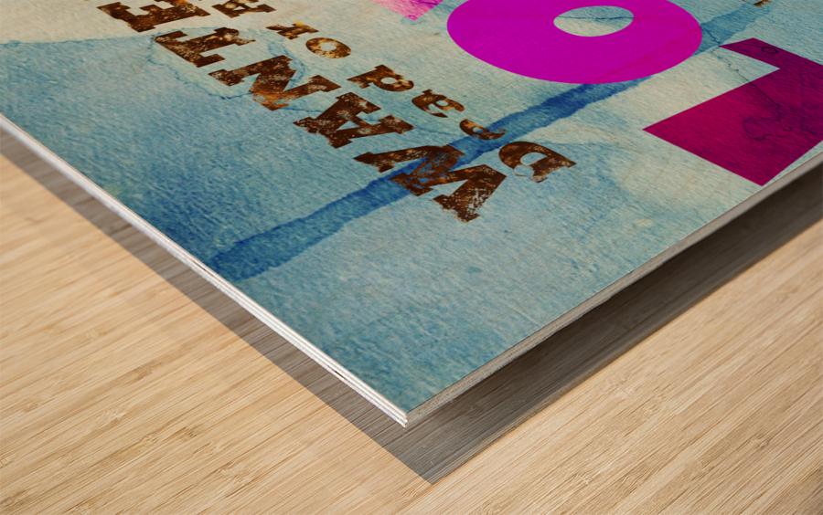 Art196 Impression sur bois