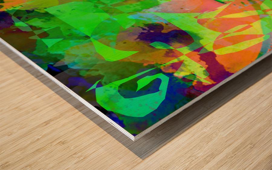 Art211 Impression sur bois