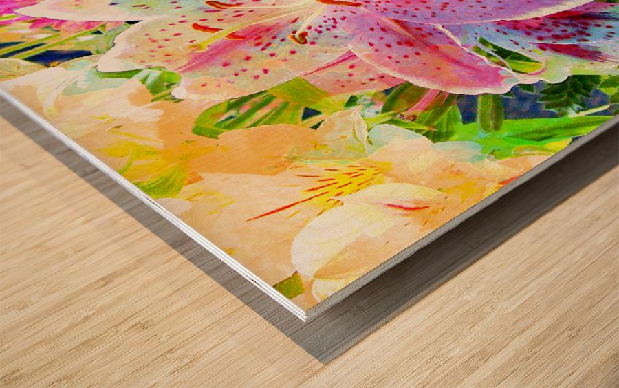 Art212 Impression sur bois