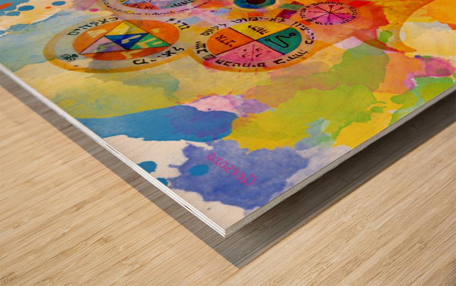 Art227 Impression sur bois