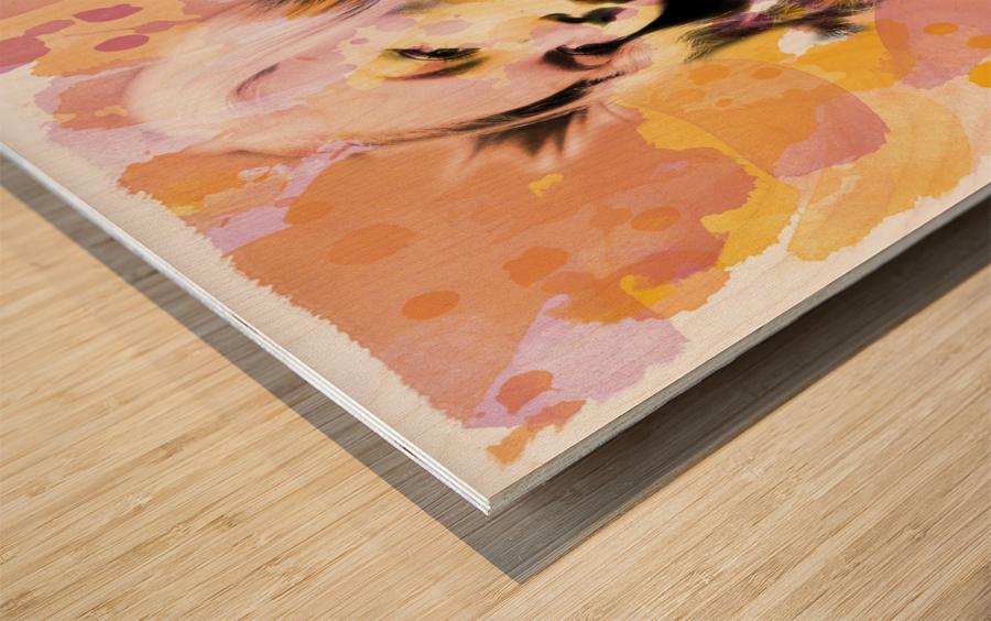 Art239 Impression sur bois