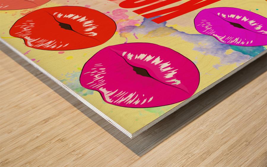 Art234 Impression sur bois