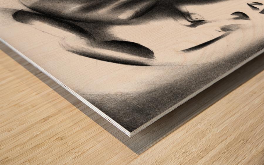 Sans titre - 23-09-16 Wood print