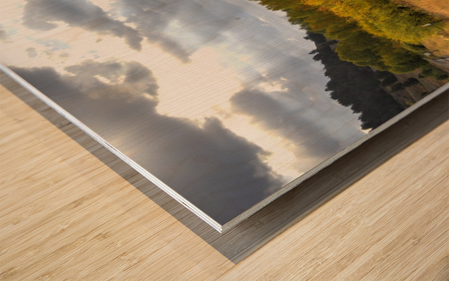 Heaven's Blessing Wood print