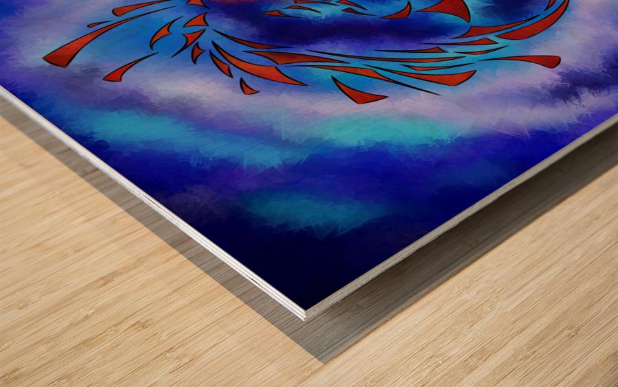 Glenfbach V1 - mystic dragon Wood print