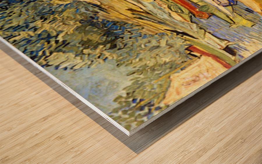 The Riverbank, La Grenouillere by Van Gogh Wood print