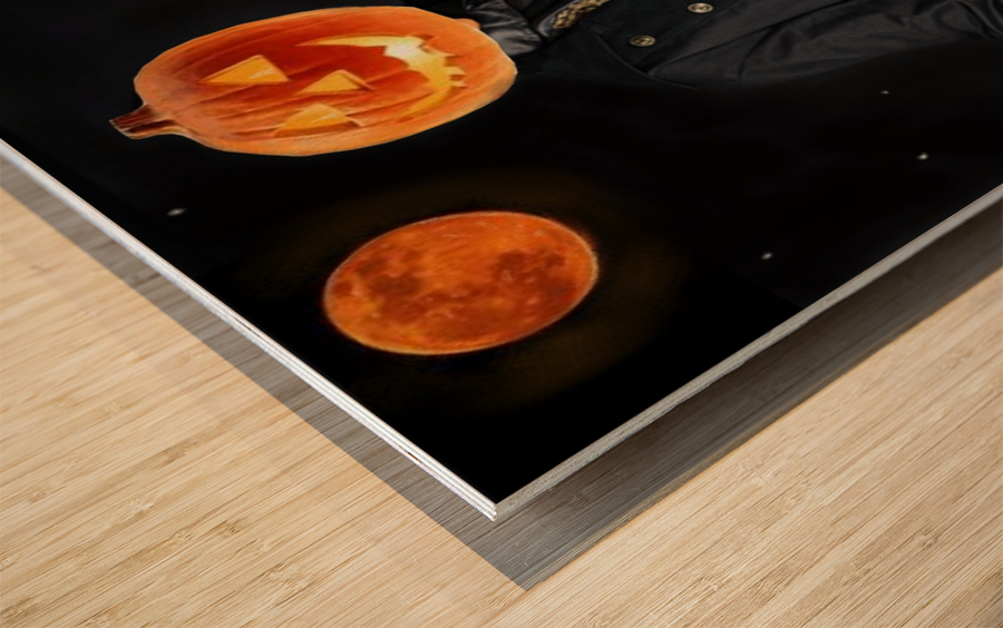 Pumpkinhead by J Gregory Wood print