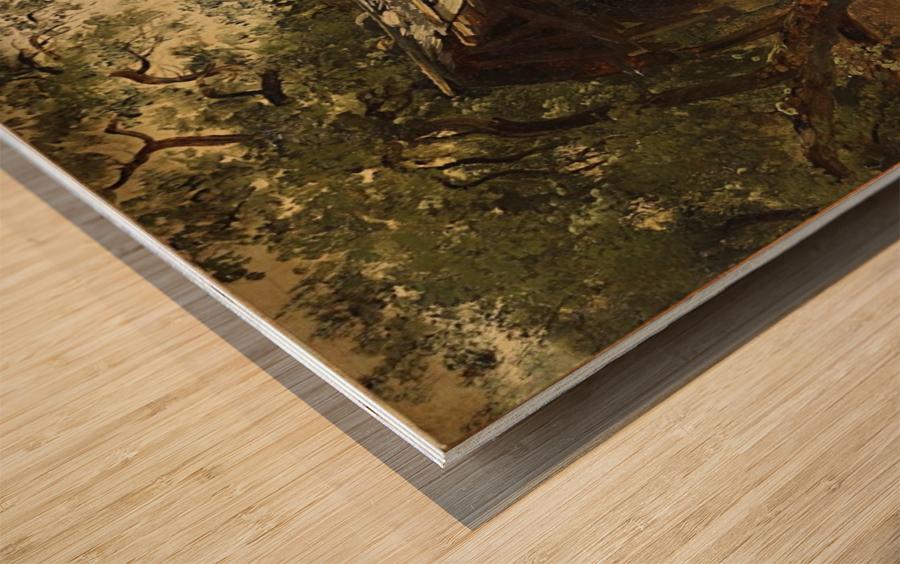 Fabrique dans le Valais Wood print