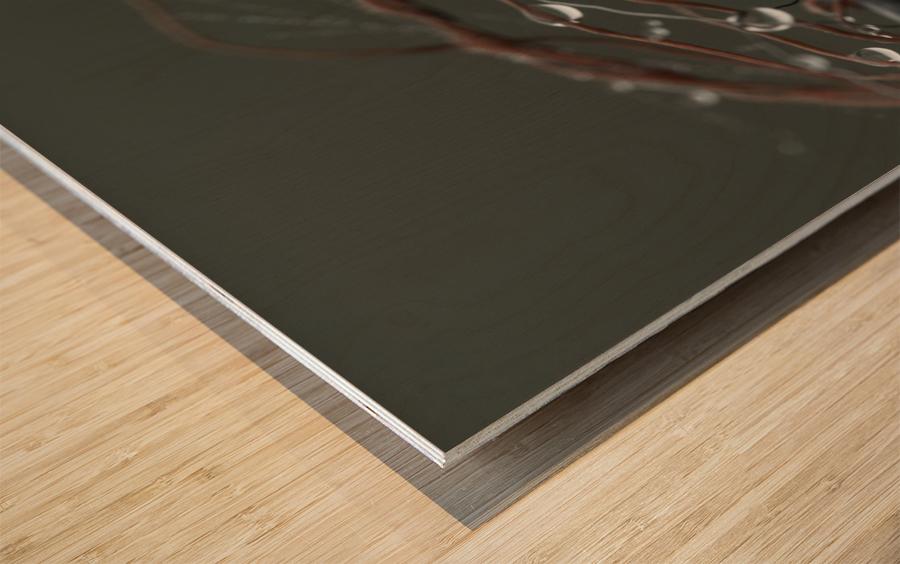 __ Wood print