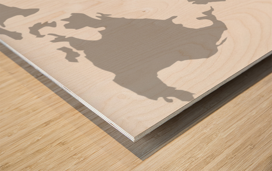 World map grey style worldflag canvas world map grey style wood print gumiabroncs Image collections