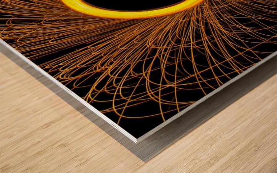 Spin 1 Wood print