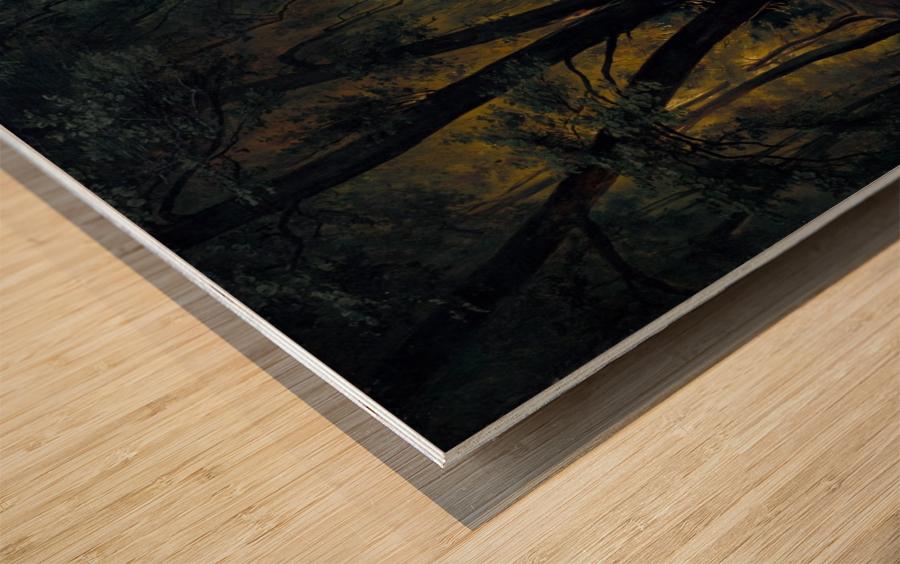 Alchetron Impression sur bois