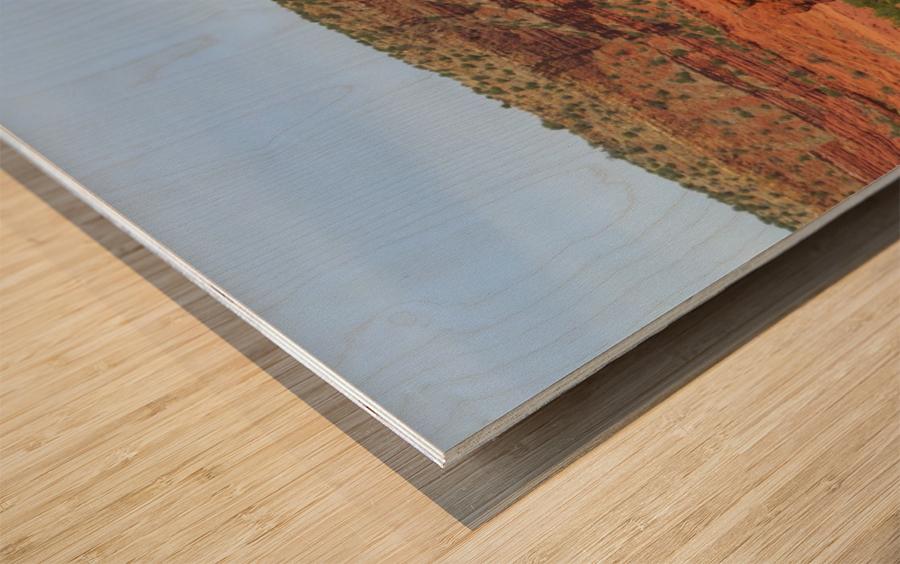 Jemez Mountains VP20 Wood print