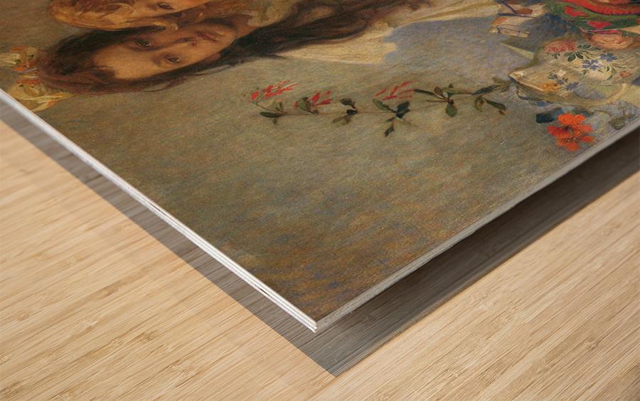Jaroslava and Jiri Wood print