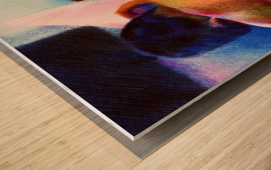 Nude - 07-12-16 Wood print