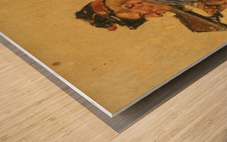 Franco Prussian War Wood Print