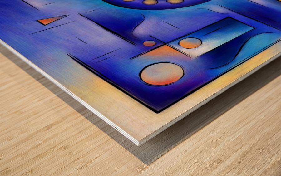 Grefenissa V1 - space art Wood print